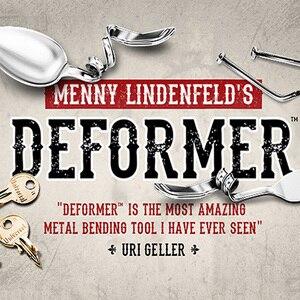 Image 2 - Deformer bởi Menny Lindenfeld (Gimmick bút và Trực Tuyến Hướng Dẫn) Mentalism Trò Ảo Thuật Hài Đồng Xu Uốn Ảo Tưởng Đạo Cụ Ảo Thuật