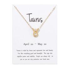 12 Constellations Necklace Pendant Aries Gemini Taurus Leo Virgo Libra Scorpio Sagittarius Capricorn Aquarius Necklaces Jewelry