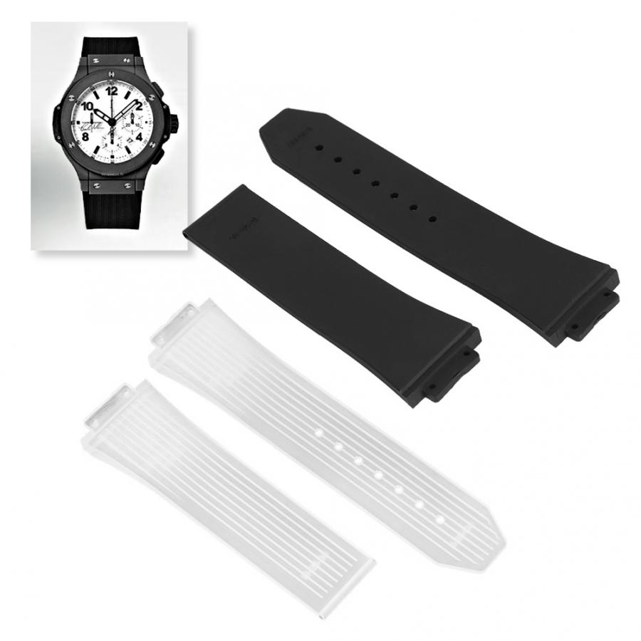 Watch Accessory 17mm Color Silicone Vertical Striped Watchband Strap Replacement Watches Bands Watch Accessories Watch Strap