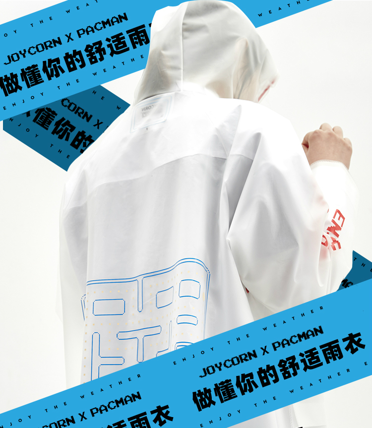 Transparent Poncho Raincoat Women Waterproof Ladies Hooded Raincoat Raincoat Overall Chubasquero Mujer Poncho Transparent JJ60YY