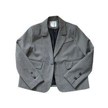 Блейзер для женщин Новые Осенние костюмы маленьких куртка Женский