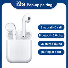 i9s tws Wireless earphones Mini Stereo Earbuds earpieces with Charging Box Bluet