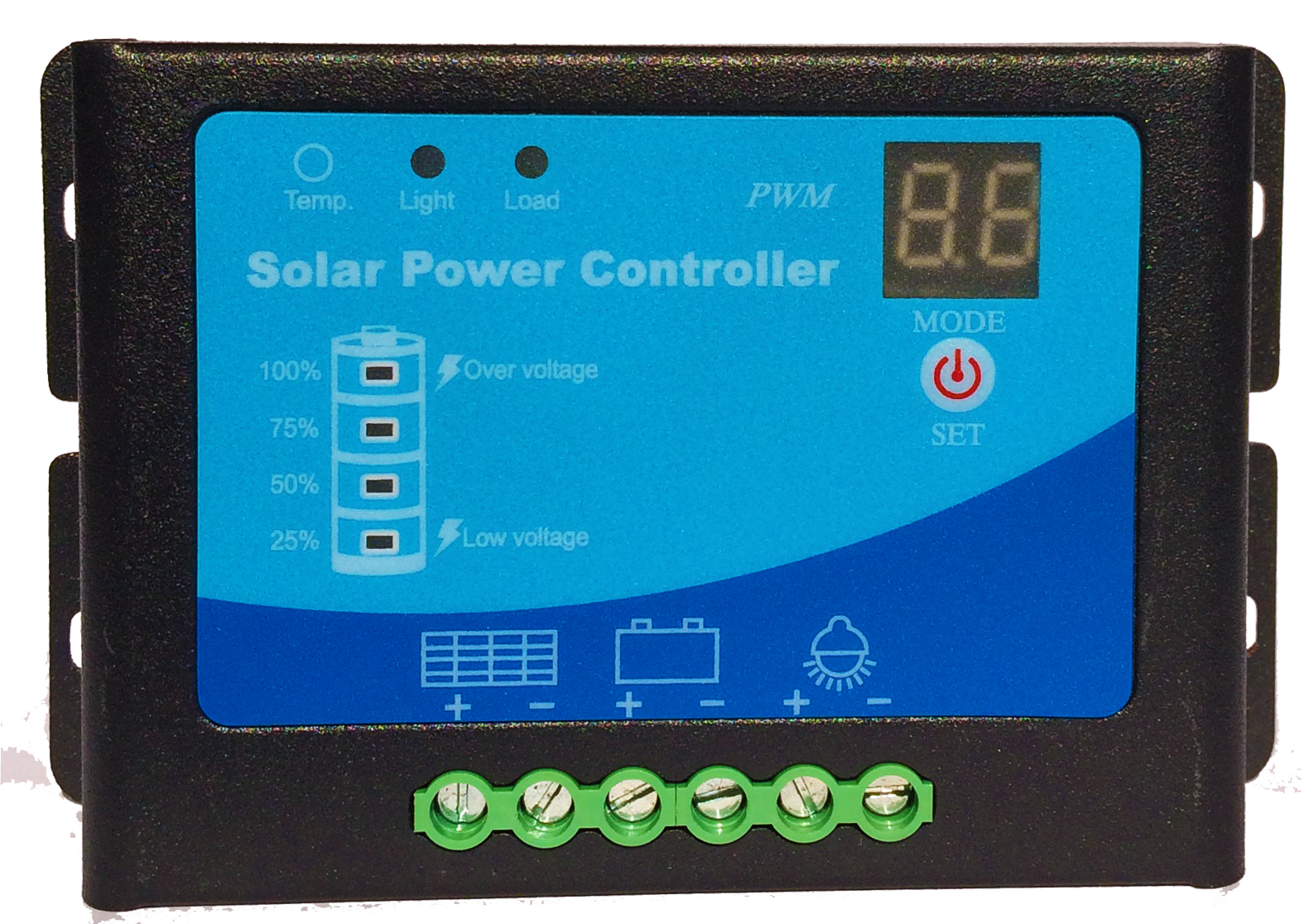 48 V/10A solar controller/electric vehicle/signal lamp/street lamp/base station/PV charge and discharge controller
