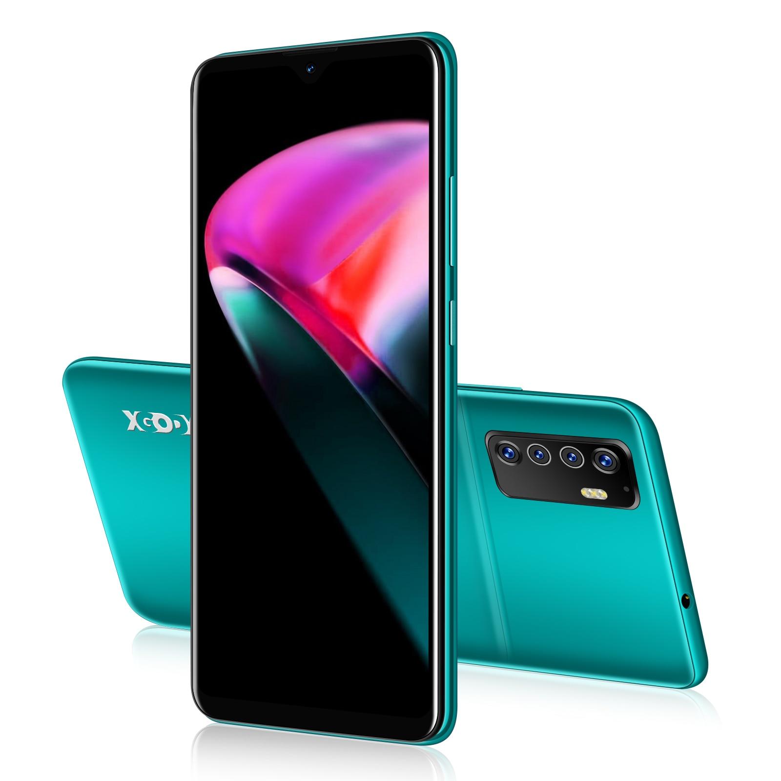 XGODY – téléphone portable A71, écran 18:9 de 6 pouces, Smartphone double SIM, 1 go de ram, 8 go de rom, processeur MTK6580 Quad-Core, batterie de 6.0 mAh, caméra de 5 mpx, fonction GPS, WiFi, 3G, Android 2200
