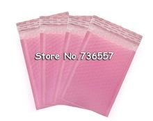 25 stücke 50 stücke 100 stücke Äußere Größe 5,9x7,8 inch 15*20cm Rosa Poly Blase Mailer selbst Dichtung Gepolsterte Umschläge Nutzbare größe 130x200mm