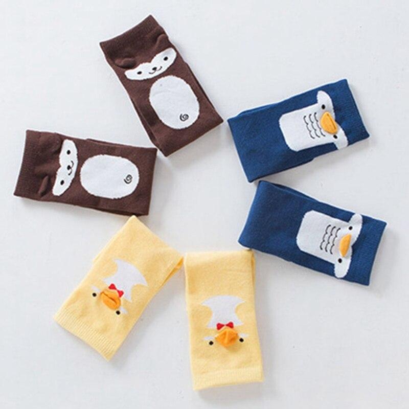 Newborn Baby Cotton Socks Cute Animal Knee High Socks Baby Girls Socks Anti- Slip Leg Warmers Infant Baby Long Socks