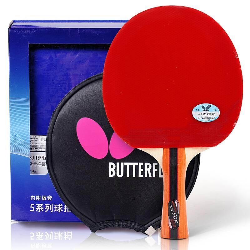 Ракетка для настольного тенниса Butterfly 501 502, ракетка для пинг понга, лезвие летучей мыши, Shakehand FL|ping pong racket|table tennisping pong | АлиЭкспресс