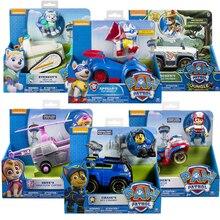אמיתי Paw סיירת צעצוע סט צעצוע המכונית אוורסט אפולו Tracker ריידר סקיי גלילה פעולה איור אנימה דגם צעצועים לילדים מתנה