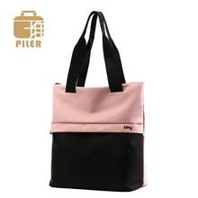 Piler High Quality Women Nylon Bag Shoulder Shopping Handbag for Female Oxford Messenger Storage Tote Causal Ladies Hobo