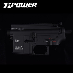 XPOWER HK416D Empfänger Airsoft Zubehör AEG Körper Nylon Metall Gel Split Getriebe Paintball Outdoor Sport Paintball Air Gun