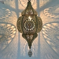 Marocco Retro Esotico Through-Intagliato Led Lampade a Sospensione Classico Postmoderno Apparecchi di Luce Industriale Della Lampada Ristorante Bar Hotel