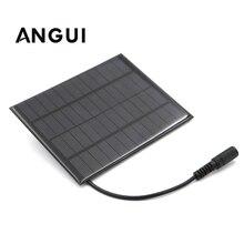 10W 7W 4.2W 3W 2W Policristallino Batteria FAI DA TE Del Silicone 12V Pannello Solare Standard A Resina Epossidica modulo Mini Cella Solare Carica di potere