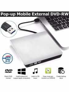 Burner Writer Drive Optical-Player Laptop Imacs Cd Dvd Windows External Portable Desktop