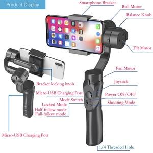 Image 4 - Orsda 3 axes H2 H4 S5B L7B stabilisateur de cardan pour Smartphone caméra daction enregistrement vidéo tik Youtube tiktok tok Vlog en direct