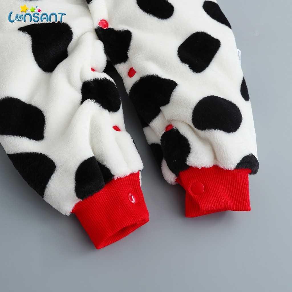 LONSANT 2020 sonbahar kış bebek Romper bebek kız pamuk tulum bebek tulum çocuk giysileri yeni doğan bebek giysileri için N30