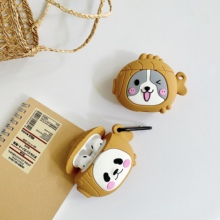 For AirPod 2 Case 3D lover monkey Animal Cartoon Soft Silicone Wireless Earphone Cases Apple Airpods protective Cover