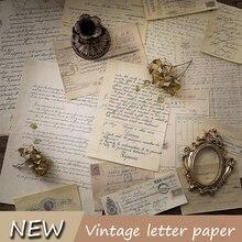 Imitant les anciennes lettres manuscrite Vintage, papier pour arrière plan de photographie de bijoux, accessoires de prise de vue à faire soi même
