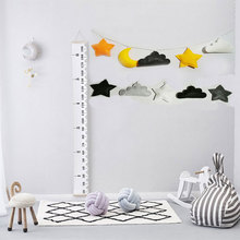 nordic handmade baby room nursery star garlands christmas kids room wall decorations photography props best gifts DIY Nordic Moon Garlands String Baby Kids Room Decoration Wall Hanging Ornaments Nursery Decor Banner Photo Props baby shower
