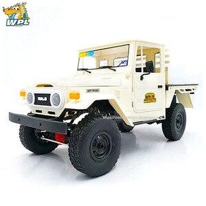 Image 4 - WPL 1 C44KM 1:16 金属組立キットモーターサーボ 4WD クライミングオフロード RC トラック DIY アクセサリー修正されたアップグレード少年のおもちゃ
