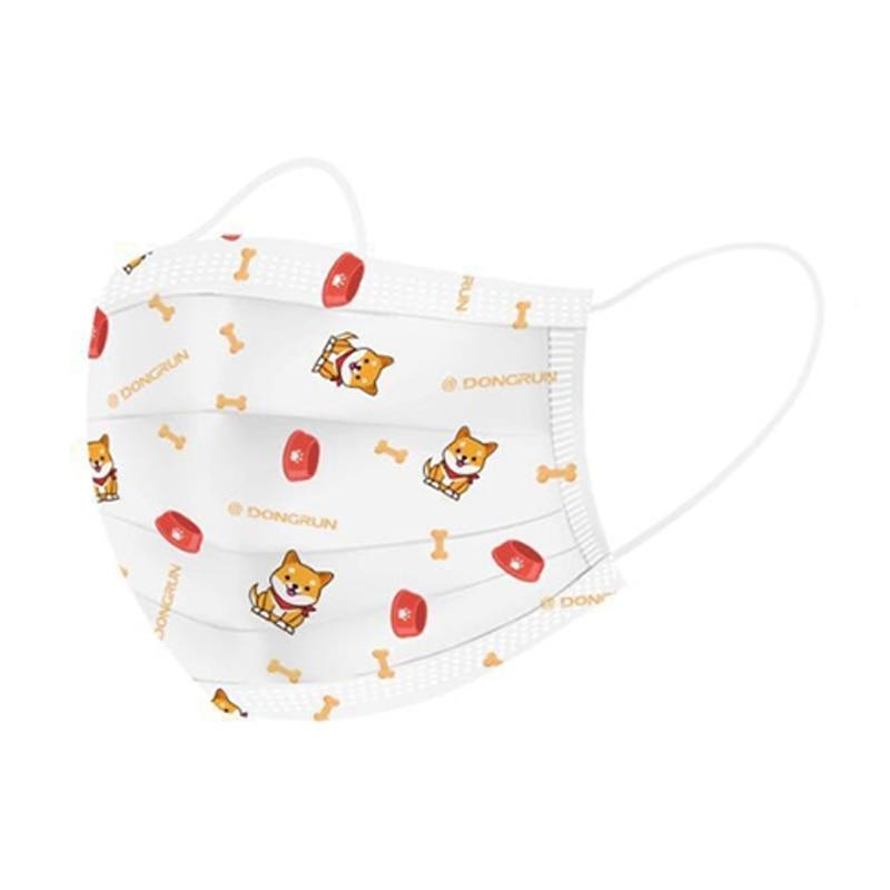 100Pcs / Lot Children Mask Cartoon Disposable Mask Cute Boy Girl Breathable Mask Soft Breathable Mask