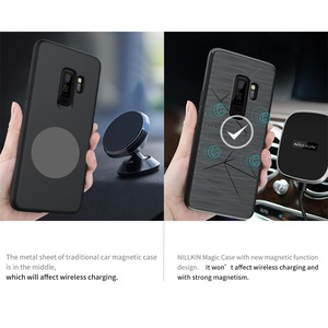 Image 2 - Case for Samsung Galaxy S10 S10+ S8 S9 S8+ S9+ Plus Support Wireless Charging Nillkin Magic Case for S10 Magnetic Holder Cover