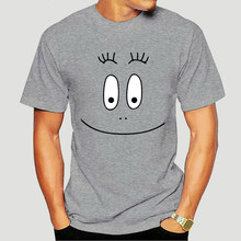 Barbapapa 1970s cartoon face t Shirt-1185D