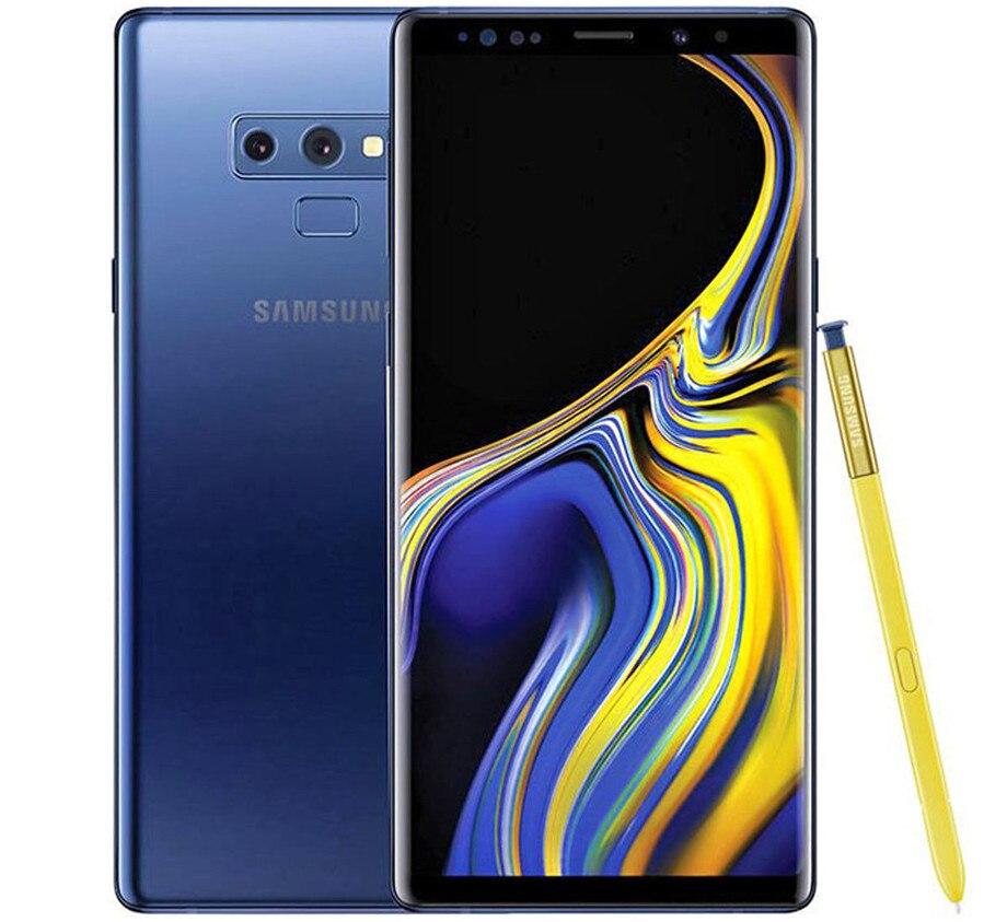 Samsung Galaxy Note9 Note 9 мобильный телефон один/Dual Sim 128 Гб встроенной памяти 6 ГБ ОЗУ LTE Octa Core 6,4