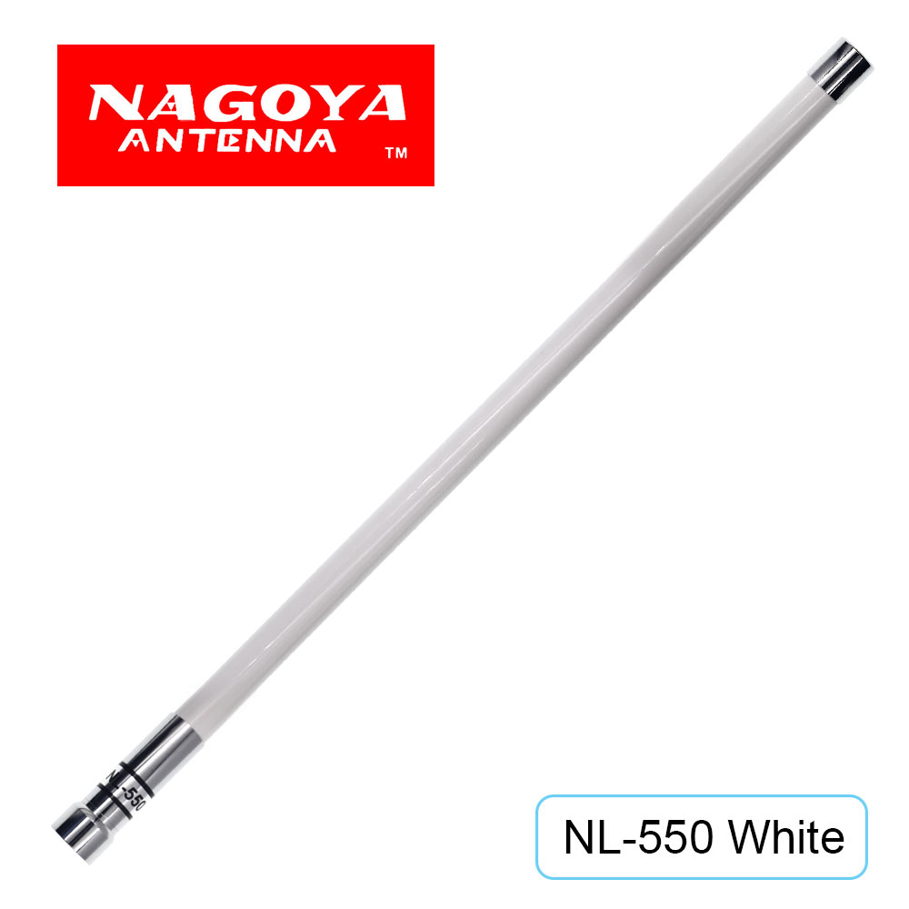 NAGOYA NL-550 VHF UHF 144mhz /430mhz Dual Band 200W 3.0dBi High Gain Fiberglass Antenna for Mobile R