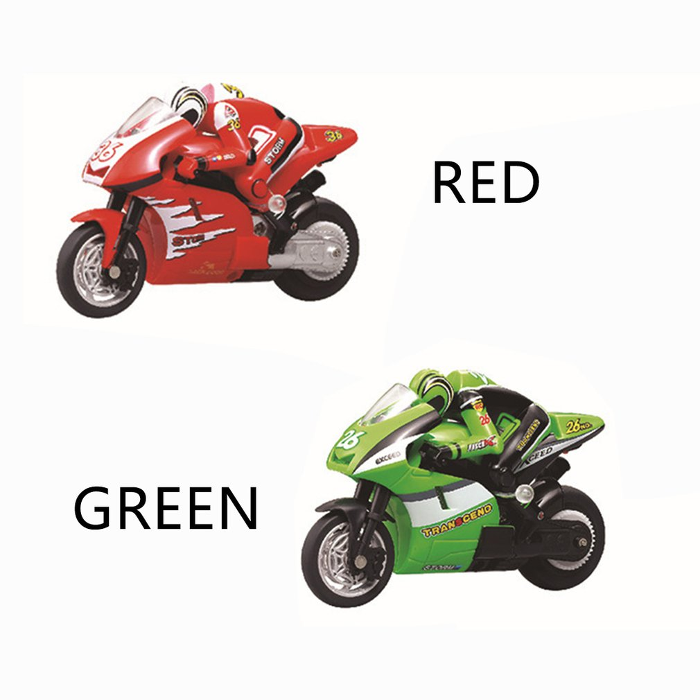 Rc Motorcycle 360 Degree Roll 0 Resistant To Falling Materials Remote Control Motorcycle Wireless Remote Control