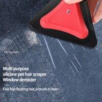 Scraper New Multi-purpose Car Interior Cleaning Silicone Pet Scraper, Car Window Glass Defogging Wiper Car Wash Accessories 6