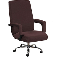 Office Rotating Computer Chair Cover Elastic Office Lift Computer Chair Cover Anti-dirty Removable Seat Cover with Armrest cheap TROISCONSEILS CN(Origin) A01893 Plain Dyed Modern Beach Chair Arm Chair Hotel Chair Wedding Chair Banquet Chair Spandex Polyester