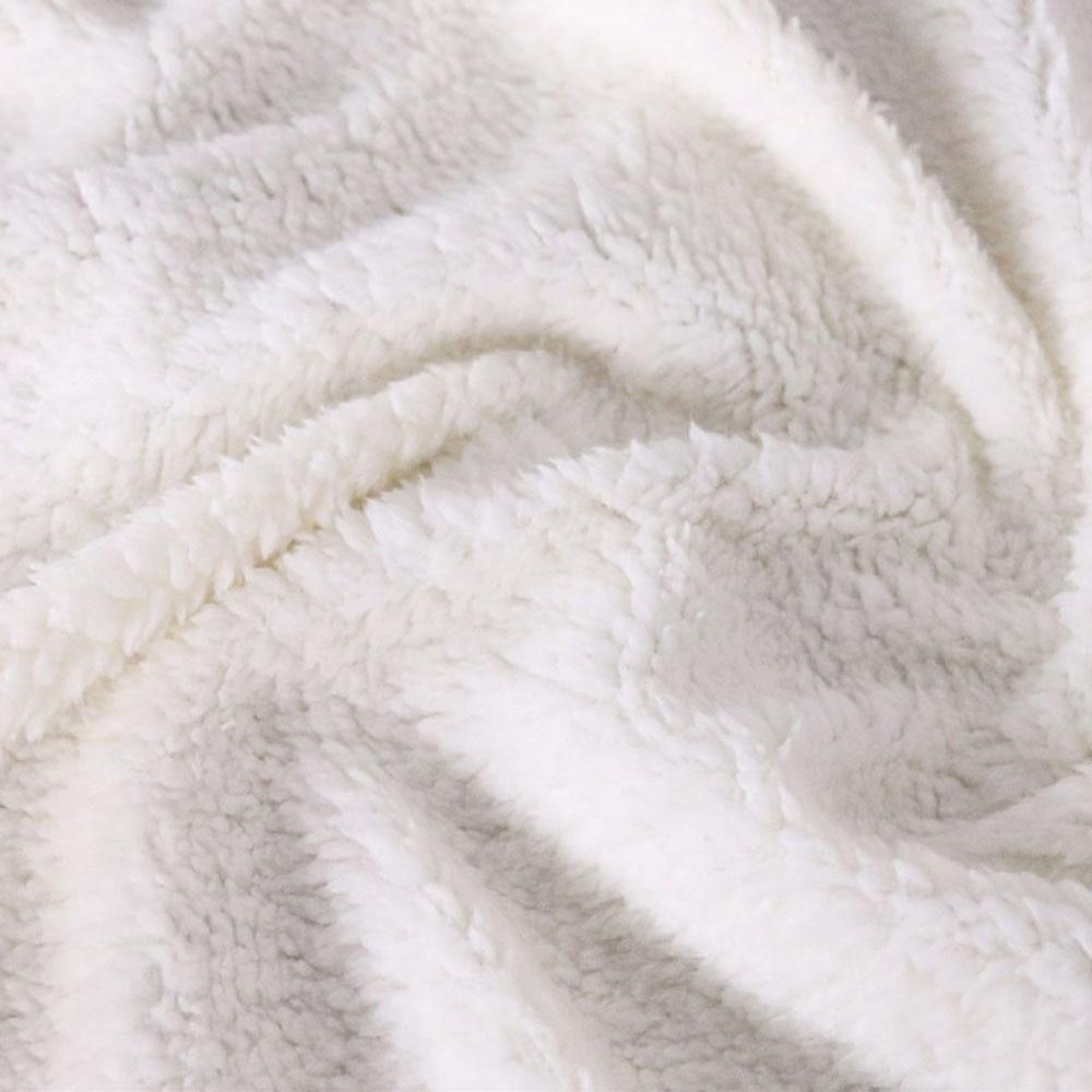 Custom DIY Print Halloween Hooded Blanket Cloak 100 Polyester Sherpa Wool Thicken Double Layer Wearable Leisure Blanket in Blankets from Home Garden