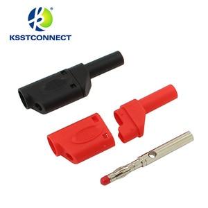 Image 5 - Fil de test en silicone flexible, de haute qualité, 13AWG, fil plaqué Nickel, fiche banane empilable, 4mm, TL440, 1.0 mètres