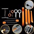 12 шт./лот  пластиковые инструменты для автоматического демонтажа  автомобильный Радио дверной зажим  панель  отделка  тире  Аудио Удаление д...