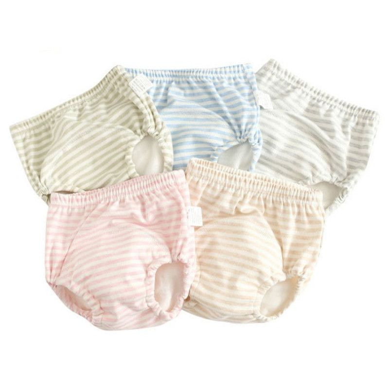 Baby Training Pants Waterproof Diaper Pants Toddler Panties Reusable Nappies