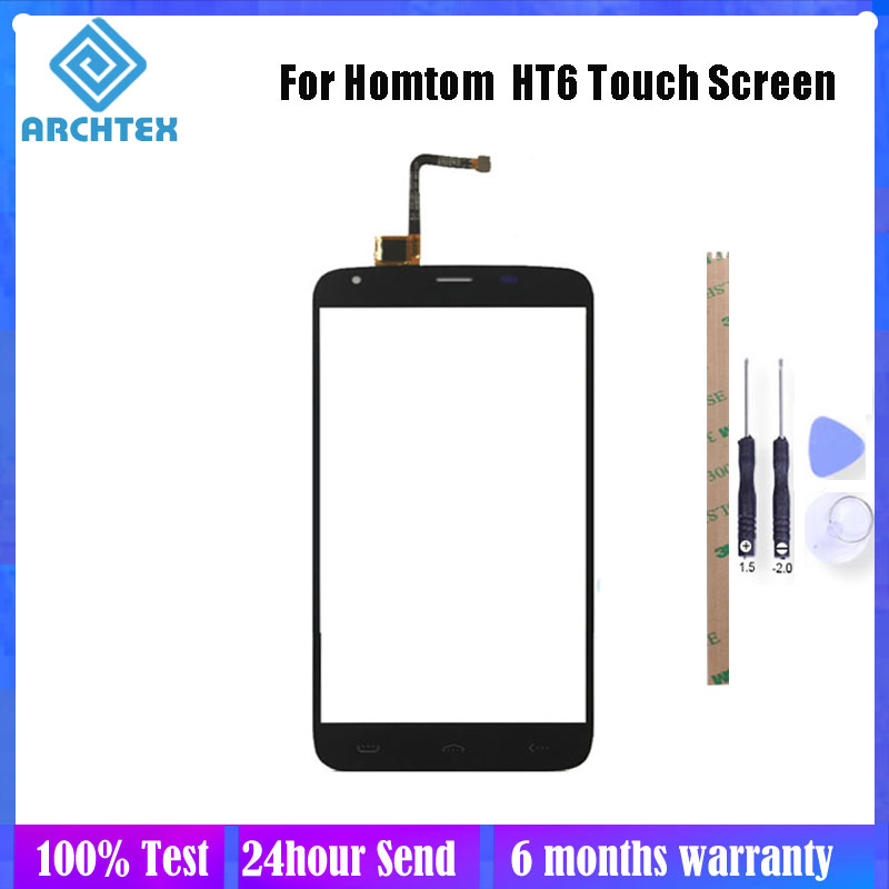 5.5 inch For <font><b>Homtom</b></font> <font><b>HT6</b></font> Touch <font><b>Screen</b></font> Panel Perfect Repair Parts Glass With Digitizer Sensor Replacement Tools image