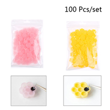 Cup Glue-Cups Eyelash-Tool Flower-Beauty 100pc Grafting Tattoo 7-In1 Pigment Adhesive