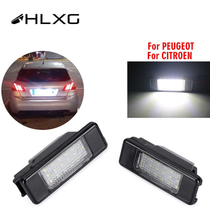 INTERIOR LED SMD Bulbs KIT WHITE CAN BUS fit PEUGEOT 207 5D