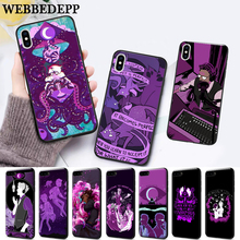 WEBBEDEPP night vale fan art Silicone soft Case for iPhone 5 SE 5S 6 6S Plus 7 8 11 Pro X XS Max XR