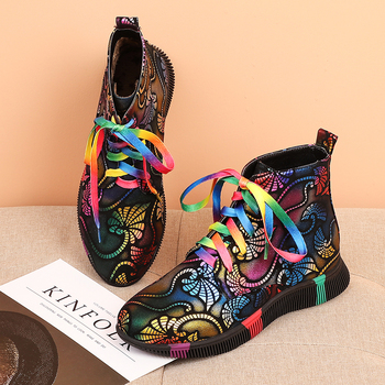 INS HOT Women ankle Boots Special materials campus style women shoes Europe and America Zipper Street style online celebrity terkel division street america pr only