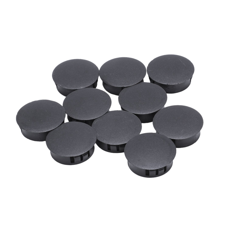 Hot XD-10 Pieces Plastic Hole Cover Caps Socket Caps Plug 30mm X 35mm X 11mm
