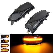 31111102 31111090 For Volvo S40 S60 S80 C30 C70 V50 V70 2007 2008 Side Mirror Indicator Dynamic LED Turn Signal Light Blinker
