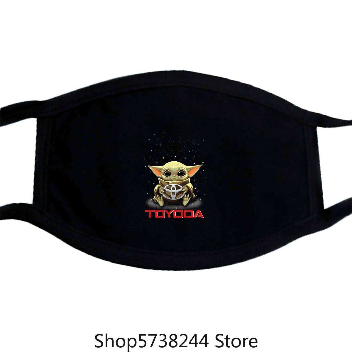 Baby Yoda Hug Toyoda Toyota Mask