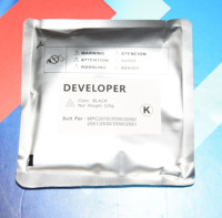 4Pcs KMCY MP C2550 Developer For Ricoh MPC2550 C2050 C2030 C2530 C2010|Printer Parts| |  -