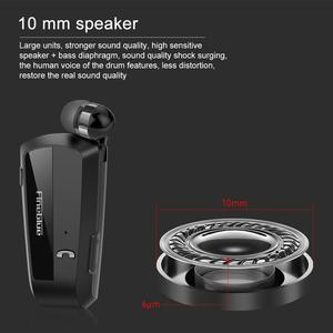 Image 5 - Le plus nouveau Fineblue F990 Portable affaires sans fil Bluetooth casque télescopique Type collier pince HD qualité sonore écouteur avec micro