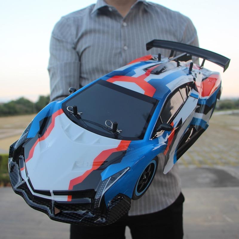 RC Car 1:10 coche de carreras de alta velocidad para Nissan GTR Championship 2,4G 4WD Radio Control deporte Drift Racing juguete electrónico