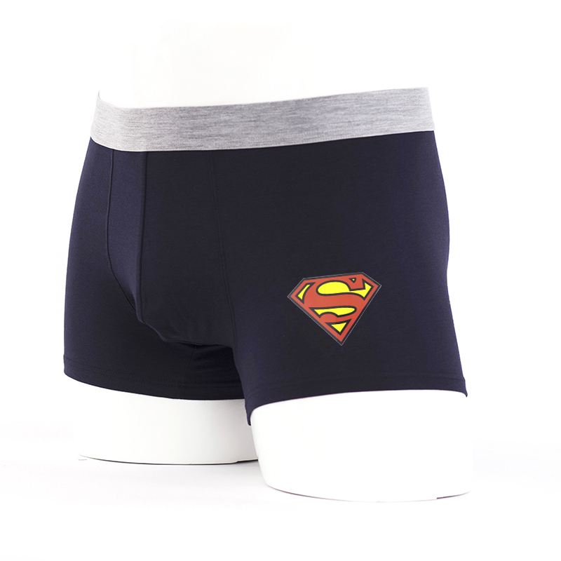Superman Breathable Men Underwear Modal Male Boxer Shorts Calvinfully Underpants Boxers Calzoncillos Klein Underwear Mens Trunks