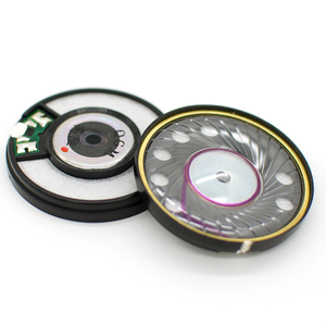 Image 1 - 50mm 320 ohm HiFi Fahrer Einheit OFC N42 Magnetische Hohe Widerstand Kopfhörer Audiophile Lautsprecher Kopfhörer DIY Fahrer