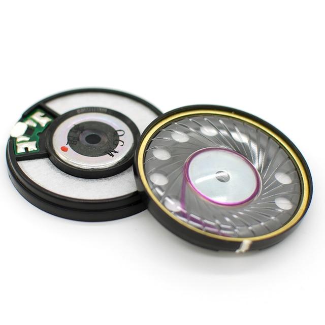 50mm 320 ohm HiFi Fahrer Einheit OFC N42 Magnetische Hohe Widerstand Kopfhörer Audiophile Lautsprecher Kopfhörer DIY Fahrer