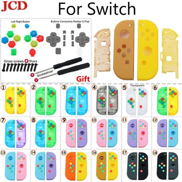 Custodia protettiva per custodia JCD fai da te per Nintendo per Switch NS Controller per Joy Con nuove custodie protettive di ricambio per Nintendo